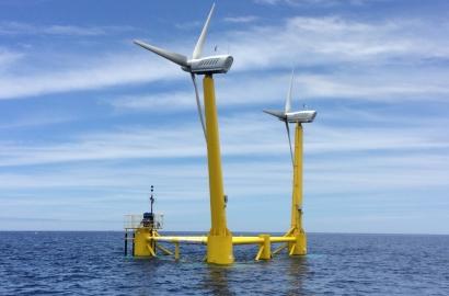 La primera plataforma flotante eólica con dos turbinas del mundo lleva la Marca España