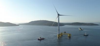 Plataformas eólicas flotantes producirán hidrógeno frente a las costas de Asturias