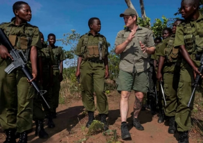 All-Women Rangers in Zimbabwe Empowered by Donated Solar + Storage