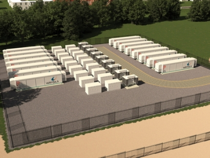 Grid-Scale Batteries to Provide Balancing Services for Largest Transmission-Connected Storage Network