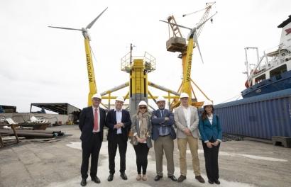 Eólica - La primera plataforma flotante eólica de España, a punto de zarpar - Energías Renovables, el periodismo de las energías limpias.