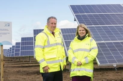 NI Water Installs Solar Farm at Water Treatment Plant