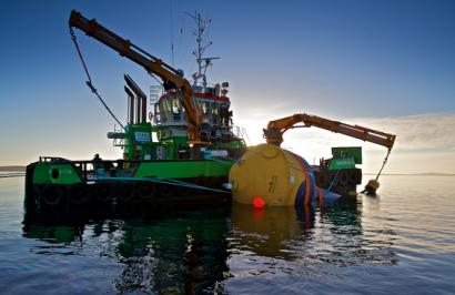 La sueca CorPower elige Portugal para ensayar un nuevo dispositivo de energía de las olas