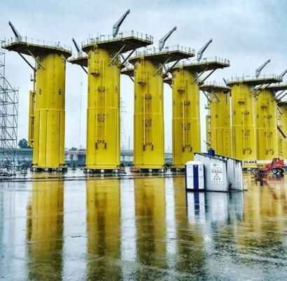 La eólica marina factura 5.000 millones de euros en Asturias