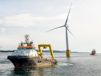 La eólica marina europea pulveriza en 2017 todos sus registros