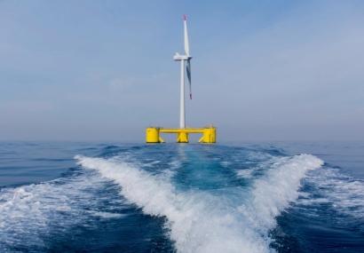 EDP competirá con Naturgy y Enagás por liderar la carrera de la eólica marina flotante en aguas de Asturias