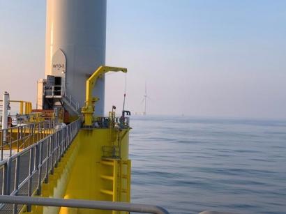 El parque eólico Windfloat Atlantic empieza a verter electricidad a la red portuguesa