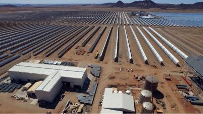 Abengoa vende a Engie su participación en la central termosolar Xina Solar One