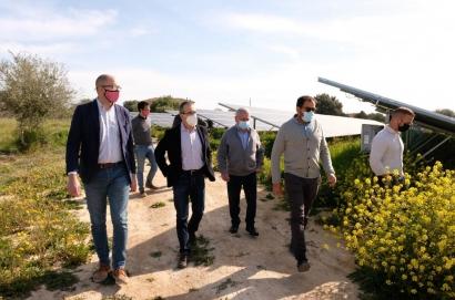 Baleares inaugura su primer parque fotovoltaico en ocho años