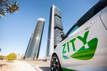 Los 500 Renault Zoe 100% eléctricos de la compañía de coche compartido Zity alcanzan los 100.000 usuarios en Madrid