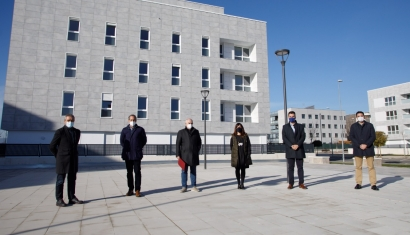 Ya está aquí la primera promoción de vivienda pública en régimen de alquiler con calefacción 100% renovable