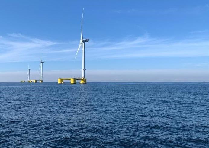 Canarias pisa a fondo en la carrera de la eólica flotante