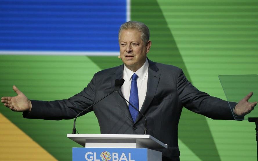 Al Gore pide a los políticos españoles que sitúen la lucha contra el cambio climático en el centro de su agenda