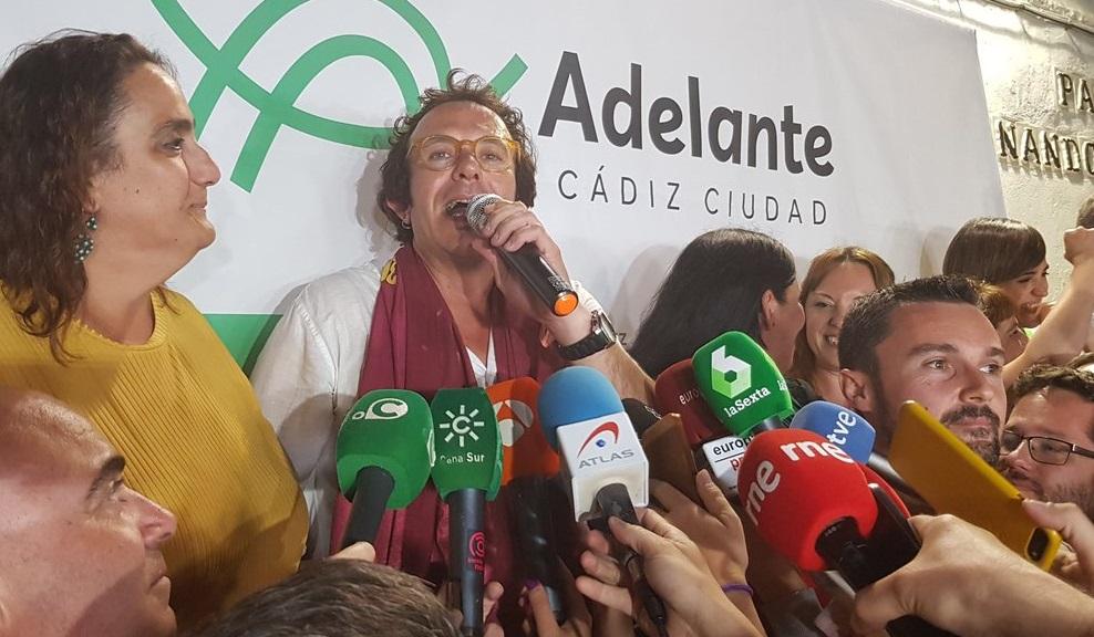 La energía del alcalde anticapitalista