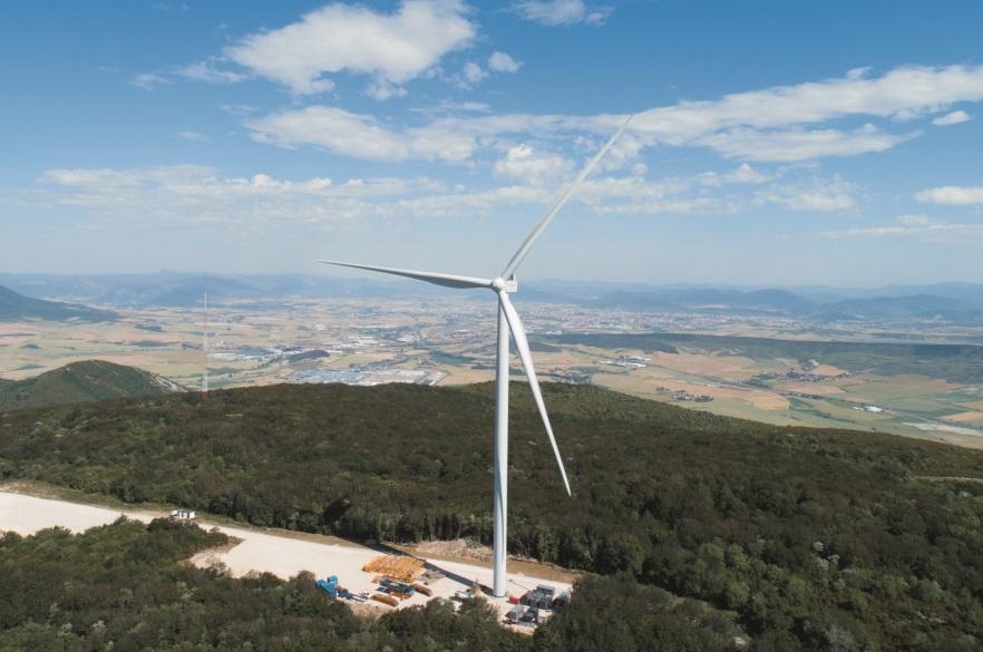 Los últimos aerogeneradores de España, 300 veces más potentes que los primeros