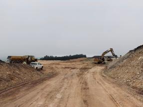 Comienzan las obras de construcción del parque eólico de Paradela, en Lugo