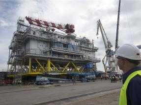 Navantia fabrica la mayor subestación marina en corriente alterna del mundo