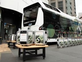 Toyota y Honda desarrollan un autobús-almacén de hidrógeno para suministrar energía en situaciones de emergencia