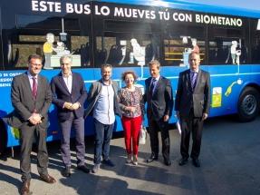 El biometano generado con las aguas residuales de Coruña ya sirve como combustible de autobuses y furgonetas