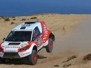 El Acciona 100% EcoPowered acaba cuarto en la primera etapa del Rally de Marruecos