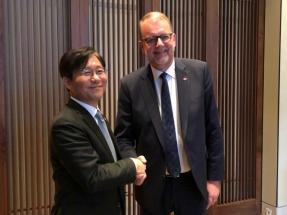 Dinamarca y Corea del Sur firman un acuerdo de cooperación en materia de energía eólica marina