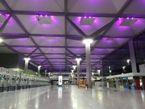 El aeropuerto de Málaga se renueva con iluminación inteligente
