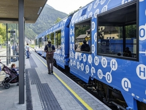 Los trenes de hidrógeno que recorrerán Francia e Italia el año que viene serán marca Alstom