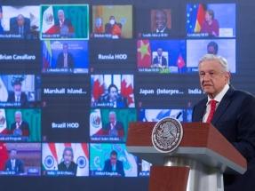 """El presidente de México anuncia en la Cumbre del Clima el descubrimiento de """"tres grandes yacimientos de hidrocarburos"""""""