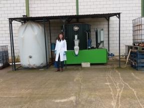 El biogás extremeño que produce 10 veces más energía térmica es generado a partir de una mezcla de sorgo, triticale, purín de cerdo y aceite de colza