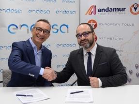Las estaciones de servicio de Andamur de Álava y Navarra tendrán cargadores ultrarrápidos para vehículos eléctricos