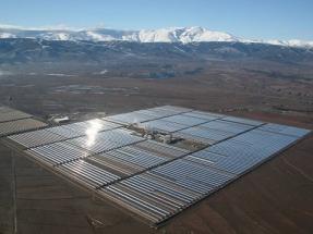 Crece casi un 20% la producción de electricidad termosolar
