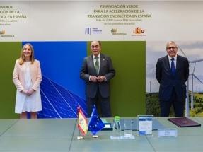 La banca pública financiará con 800 millones de euros 2.000 megavatios de potencia renovable que proyecta Iberdrola en España