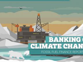 Santander y BBVA siguen financiando los combustibles fósiles con cifras millonarias