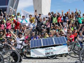 El reto del Pedaleo Solar finaliza esta semana en Madrid su aventura
