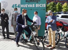 Madrid ofrece un nuevo servicio de alquiler de bicicletas eléctricas sin base fija