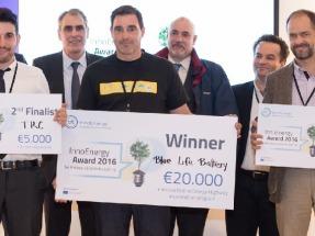 Bluelife Battery gana el premio a la innovación InnoEnergy Iberia