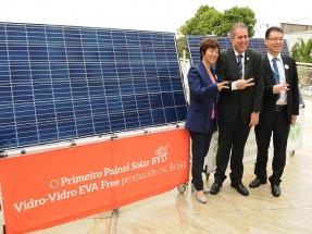Comienza a funcionar en el estado de Sao Paulo una fábrica de paneles fotovoltaicos