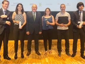 El Clúster de Eficiencia Energética de Cataluña entrega sus premios al talento universitario durante la V Nit de l'Eficiència