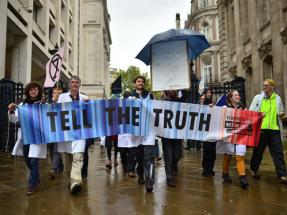 Un millar de científicos apoya la desobediencia civil pacífica ante la crisis climática