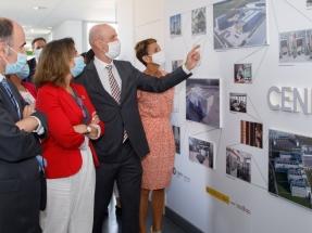 La ministra Ribera sitúa Navarra a la altura de Alemania y Dinamarca en la carrera eólica global