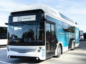 El fabricante portugués de autobuses Caetano acelera en la carrera del hidrógeno