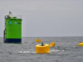 La boya undimotriz diseñada por Oceantec sobrevive a un año de pruebas en el Cantábrico