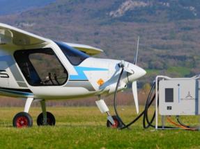 La Agencia Europea de Seguridad Aérea aprueba el primer cargador de aviones eléctricos
