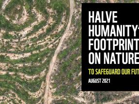WWF pide reducir a la mitad la huella ambiental de nuestros modelos de producción y consumo