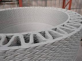 GE Renewable quiere desarrollar torres de hormigón impreso en 3D de hasta 200 metros