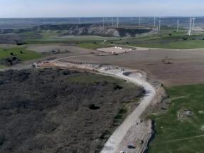 Caminos de ceniza para construir un parque eólico en los Valles del Cerrato