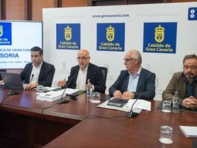 El Cabildo quiere que el tendido de la presa de Chira-Soria quede soterrado