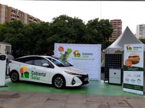 Cubierta Solar presenta en Benimov 2019 su coche híbrido-fotovoltaico