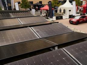Solarwatt presenta en Frankfurt su coche eléctrico fotovoltaico Jaguar I-Pace