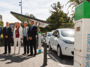 Cuatro vehículos eléctricos para el parque móvil de la Junta de CyL